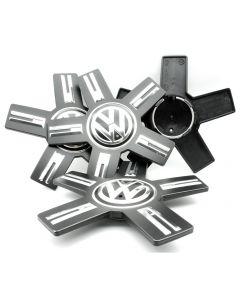 4x VW Touareg Nabendeckel Felgendeckel 760601149 Nabenkappen