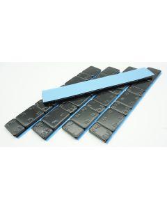 300g Auswuchtgewichte Schwarz 5x60g Riegel 5g+10g Aufteilung