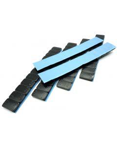 360g Auswuchtgewichte schwarz kunststoffbeschichtete Stahlgewichtsriegel 6x60g