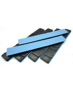 360g Auswuchtgewichte Schwarz 6x60g Riegel 5g+10g Aufteilung