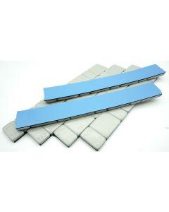 360g Auswuchtgewichte Silber 6x60g Riegel 5g+10g Aufteilung