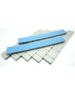 420g Auswuchtgewichte Silber 7x60g Riegel 5g+10g Aufteilung