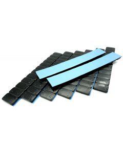 480g Auswuchtgewichte schwarz kunststoffbeschichtete Stahlgewichtsriegel 8x60g