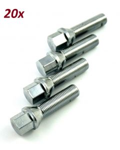 Kegelbundschrauben M14 x 1,5 x 45 Chrome
