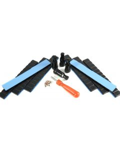 4x 11,3mm Alu +480g Gewichte 4x  einsätze 1x Eindreher