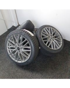 Komplettradsatz Winter Borbet BS5 Metal Grey 8x18 et50 5x112 + NEXEN WI-SP2 225/40 R18 92 V XL - E, B, 1, 69dB