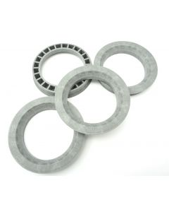 RONAL 4x Zentrierringe 82,0-60,1 / 82 auf 60,1 Grau