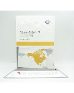 Original VW Navigation 3G0919866BH AS SD Karte North America (V5) Maps für Discover Media 2 NEU