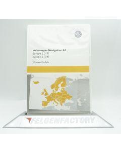 Original VW Navigation 3G0919866BJ AS SD Karte Europa 1 (V8) Maps für Discover Media 2 NEU