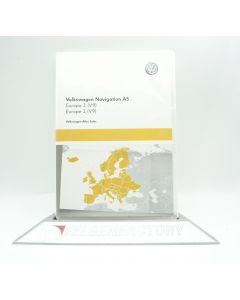 Original VW Navigation 5NA919866 AS SD Karte Europa 1 (V9) Maps für Discover Media 2 NEU